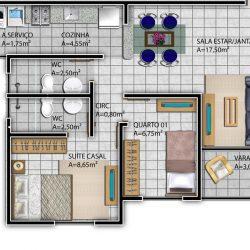 Imagem do Apartamentos Tipo I - Plaza Mayor